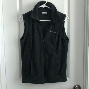 Dark Gray Columbia Vest